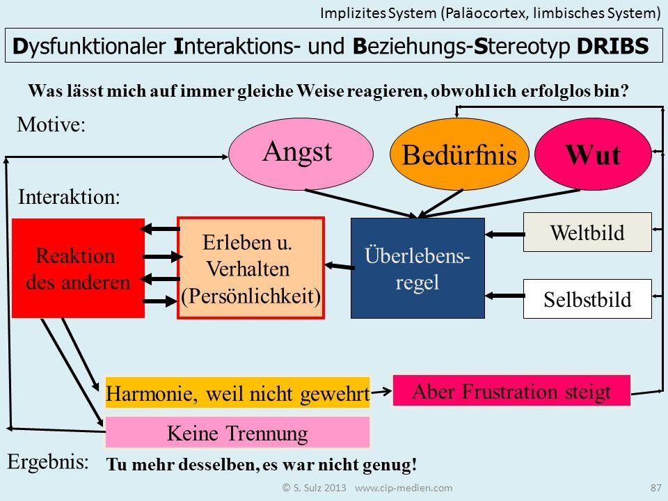 Implizites System (Paläocortex, limbisches System)