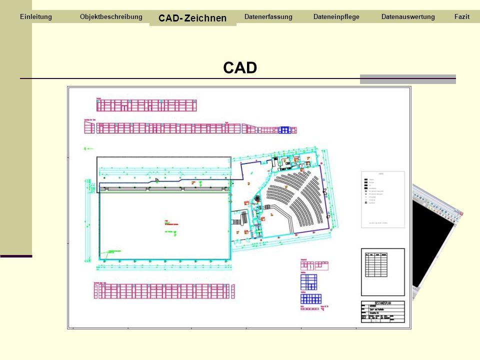 CAD CAD- Zeichnen ABCD Objektbeschreibung Datenerfassung