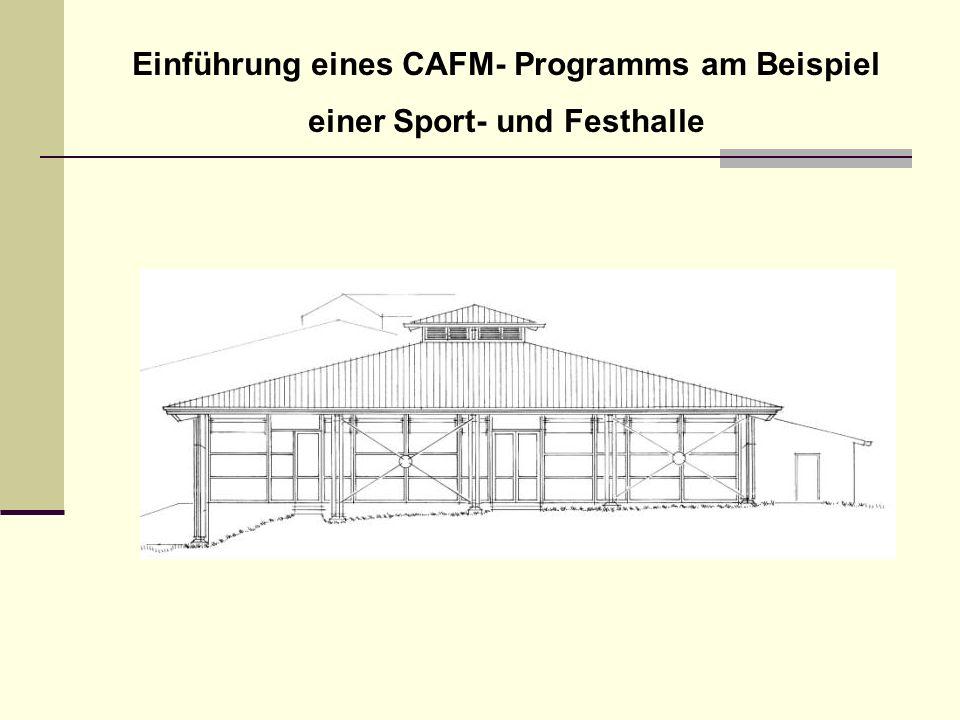 Einführung eines CAFM- Programms am Beispiel