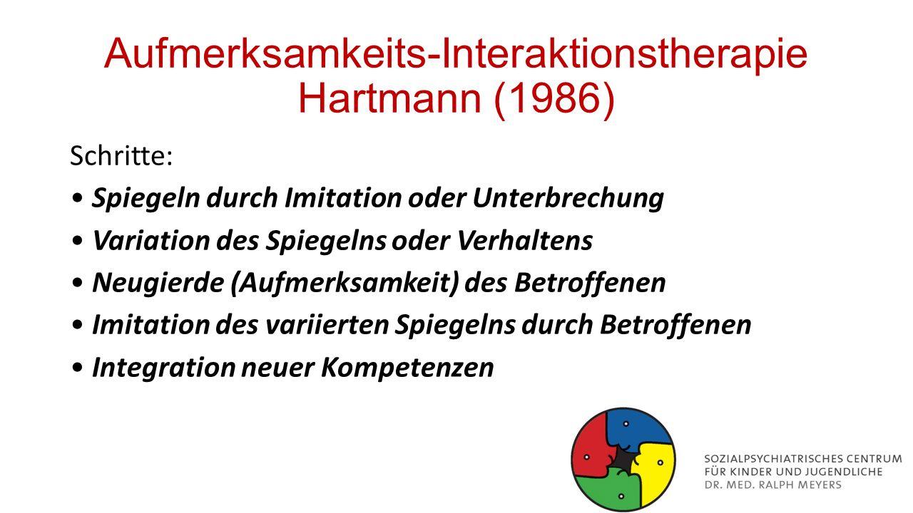 Aufmerksamkeits-Interaktionstherapie Hartmann (1986)
