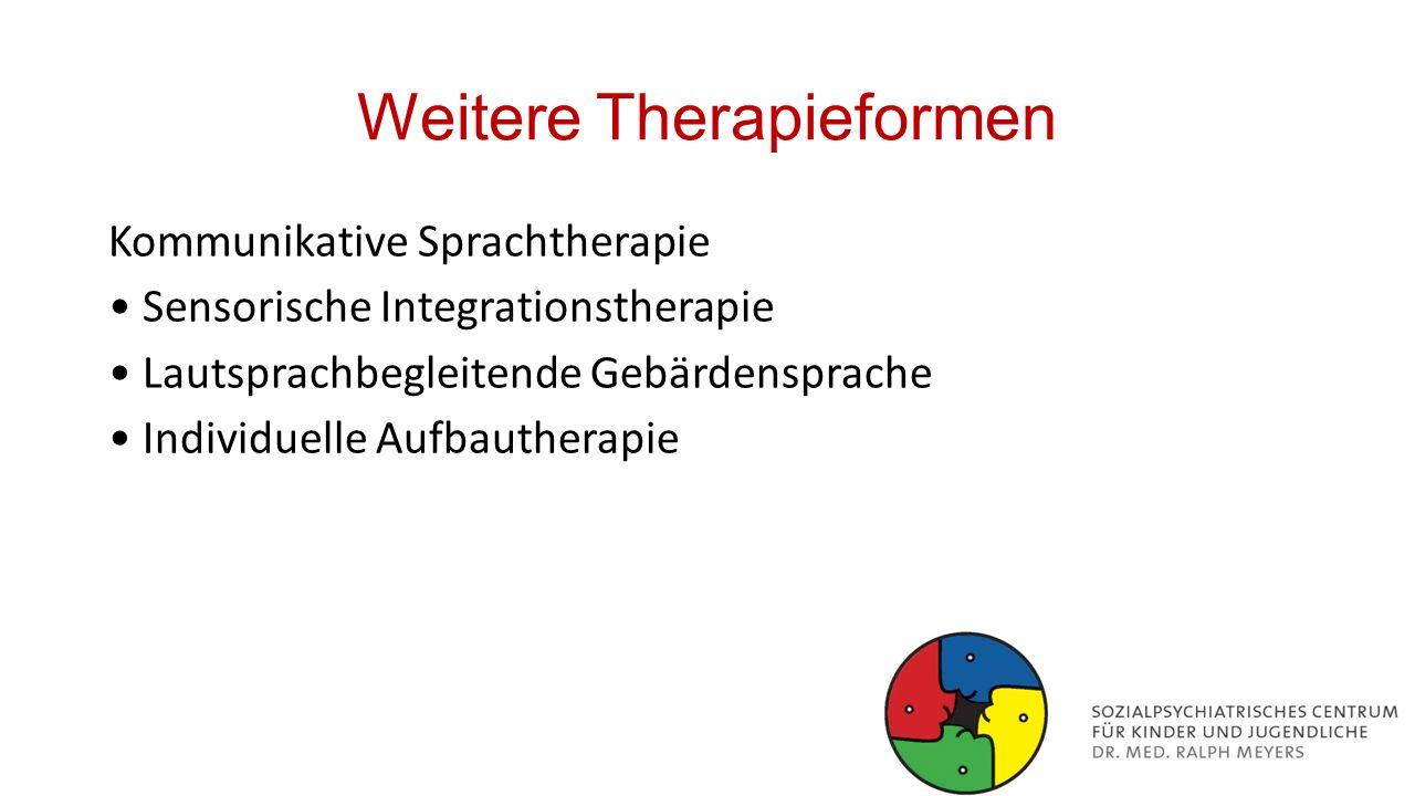 Weitere Therapieformen