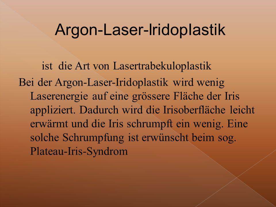 Argon-Laser-lridopIastik
