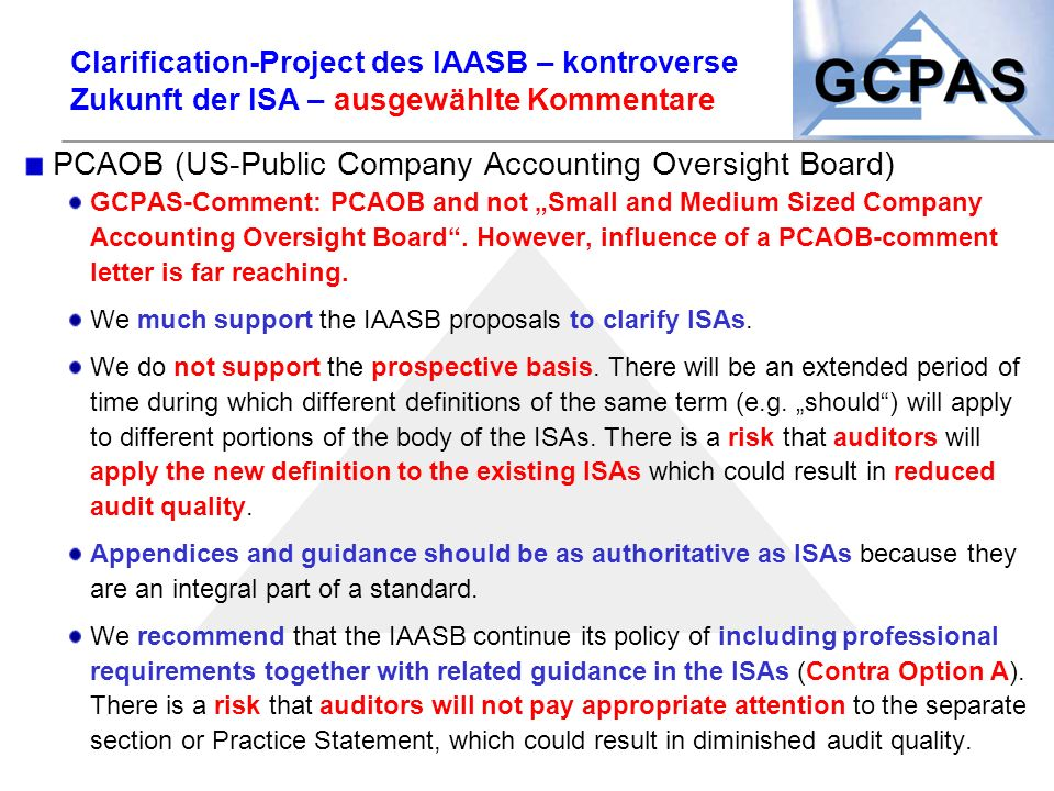 PCAOB (US-Public Company Accounting Oversight Board)