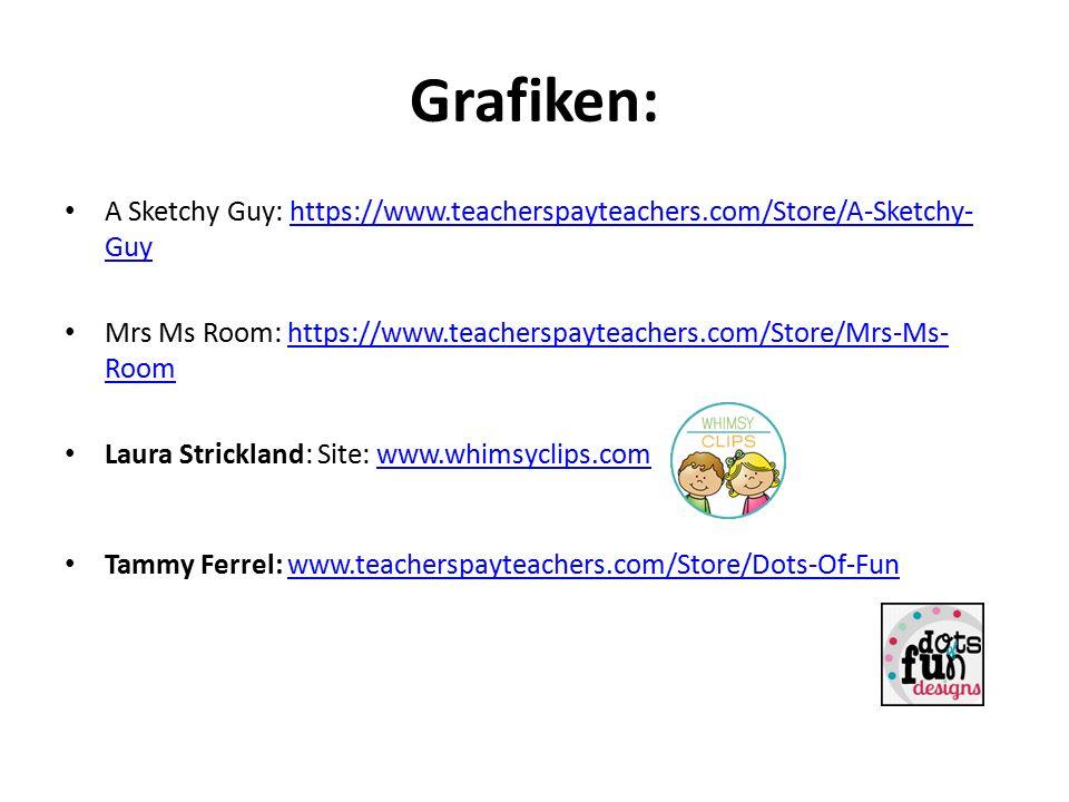Grafiken: A Sketchy Guy: https://www.teacherspayteachers.com/Store/A-Sketchy-Guy. Mrs Ms Room: https://www.teacherspayteachers.com/Store/Mrs-Ms-Room.