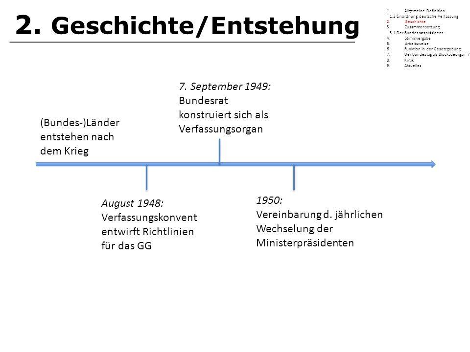 2. Geschichte/Entstehung
