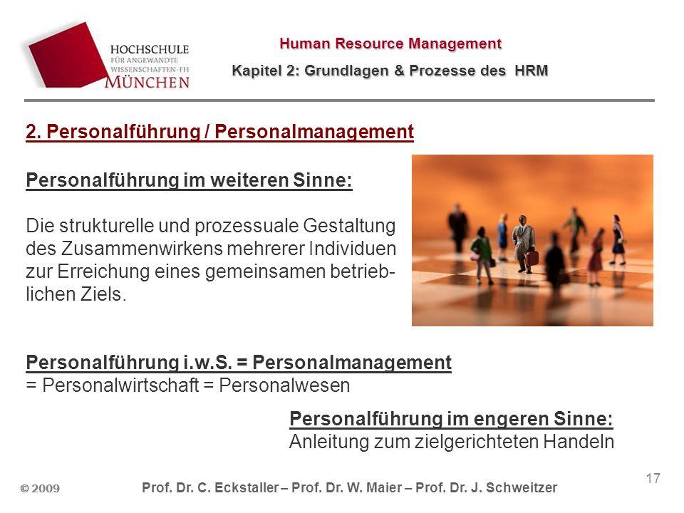 2. Personalführung / Personalmanagement