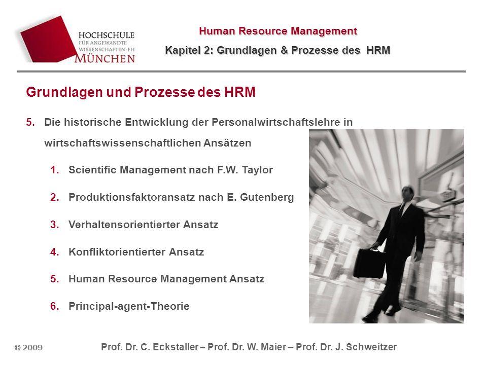 Grundlagen und Prozesse des HRM