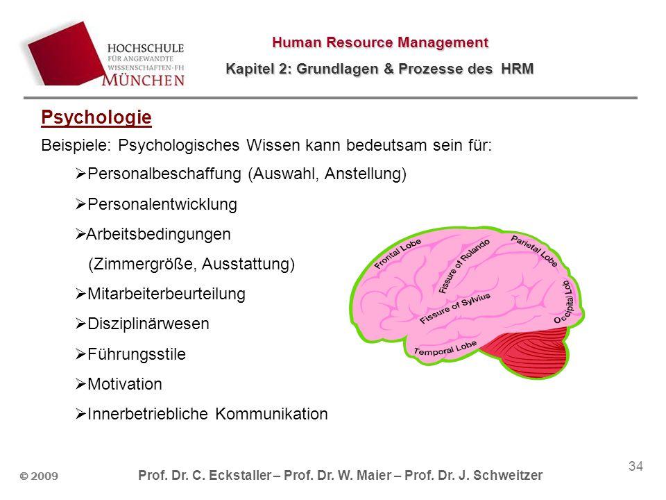 Psychologie Beispiele: Psychologisches Wissen kann bedeutsam sein für: