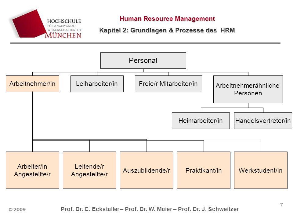 Personal Arbeitnehmer/in Leiharbeiter/in Freie/r Mitarbeiter/in