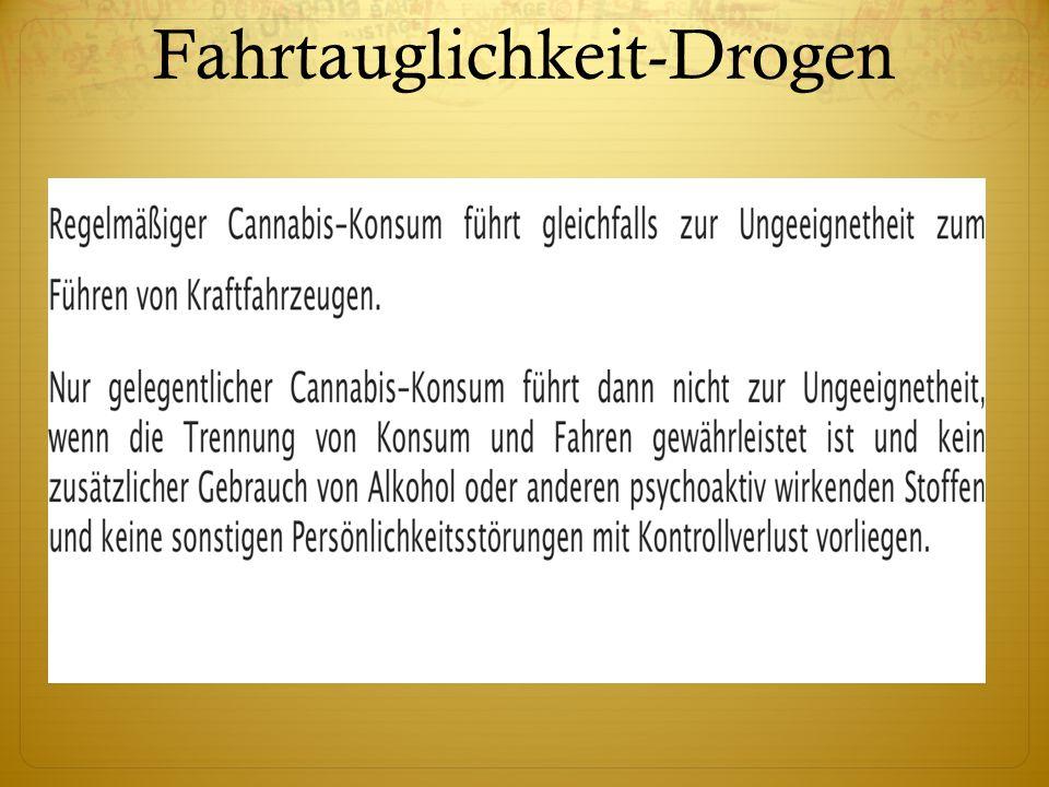 Fahrtauglichkeit-Drogen
