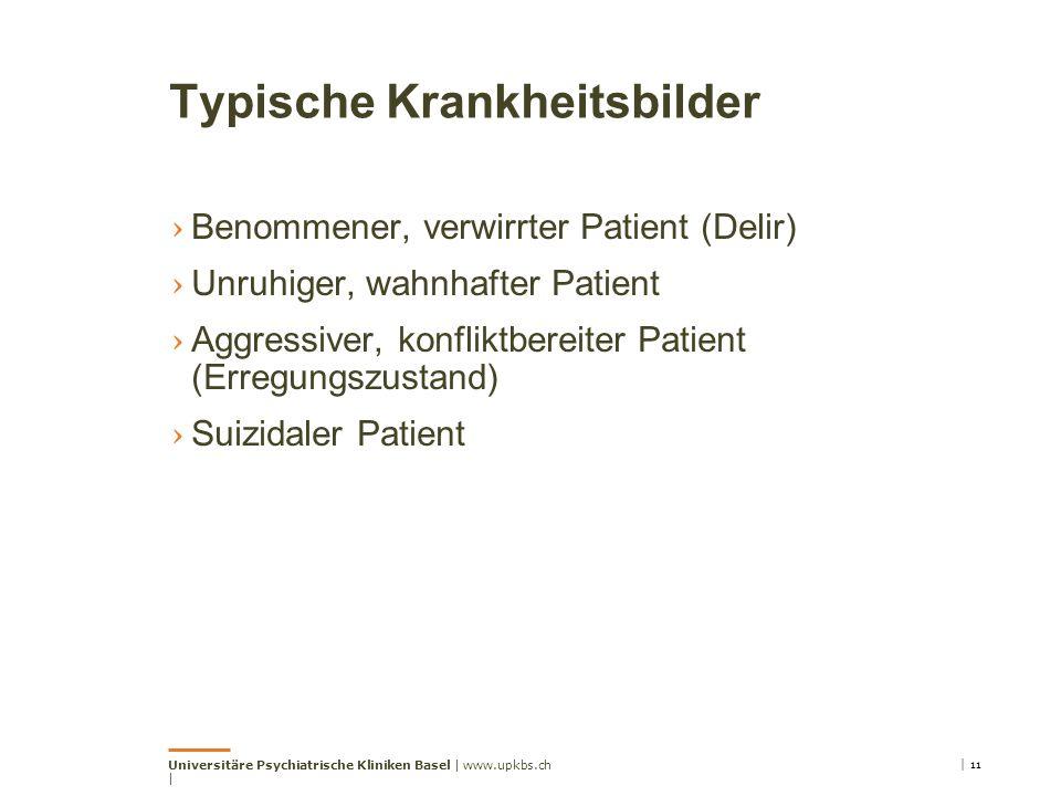 Typische Krankheitsbilder
