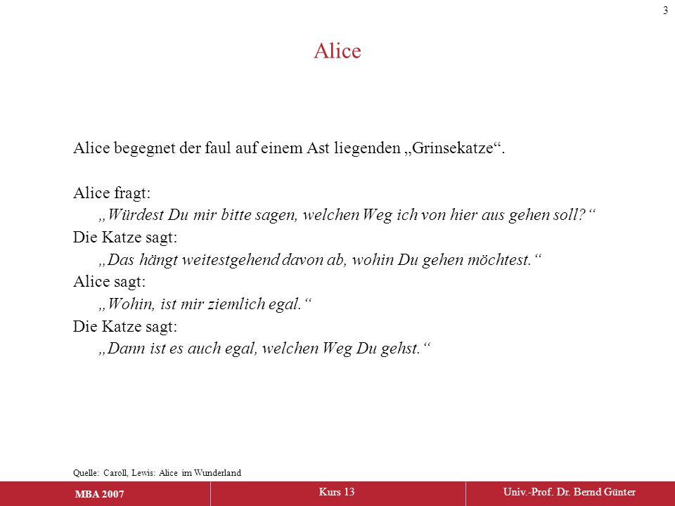 """Alice Alice begegnet der faul auf einem Ast liegenden """"Grinsekatze ."""