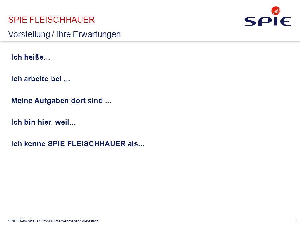 SPIE FLEISCHHAUER Agenda