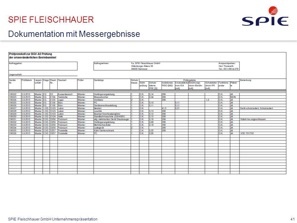 SPIE FLEISCHHAUER Dokumentation Abschlussprotokoll