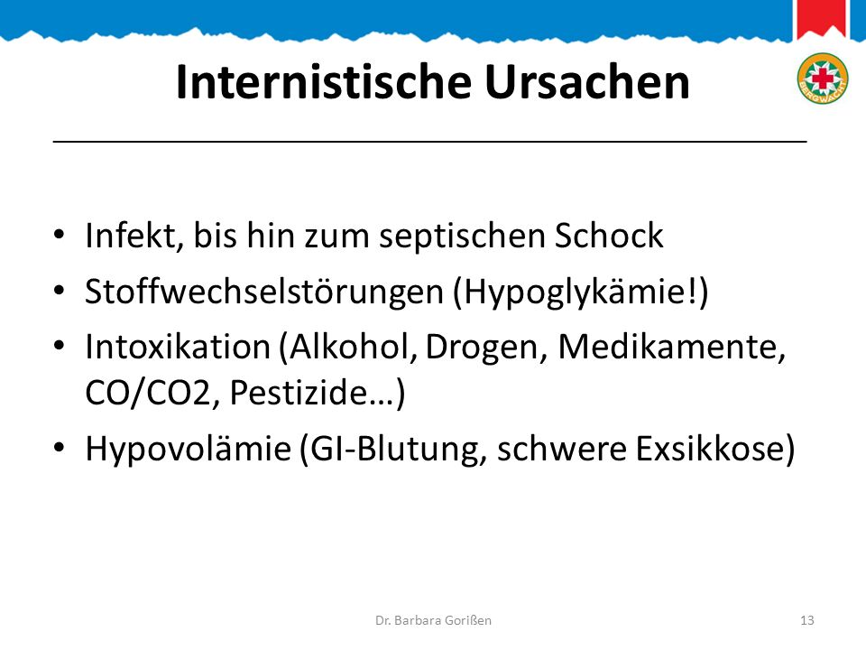 Internistische Ursachen