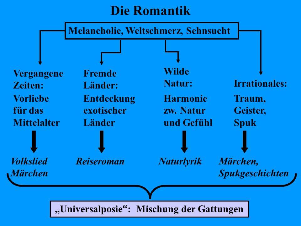 """""""Universalposie : Mischung der Gattungen"""