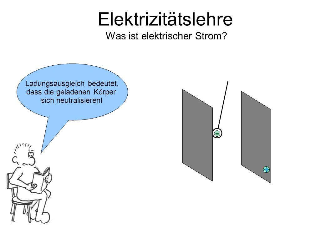 Was ist elektrischer Strom