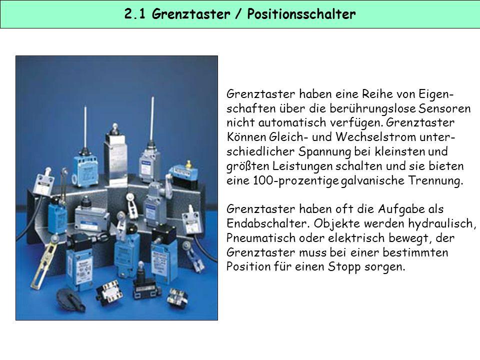 2.1 Grenztaster / Positionsschalter