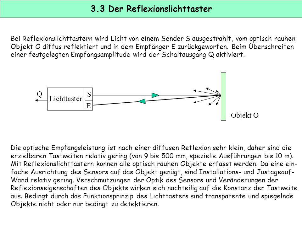 3.3 Der Reflexionslichttaster