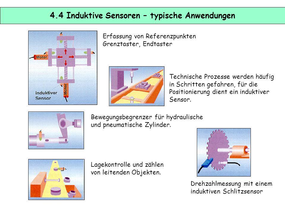 4.4 Induktive Sensoren – typische Anwendungen