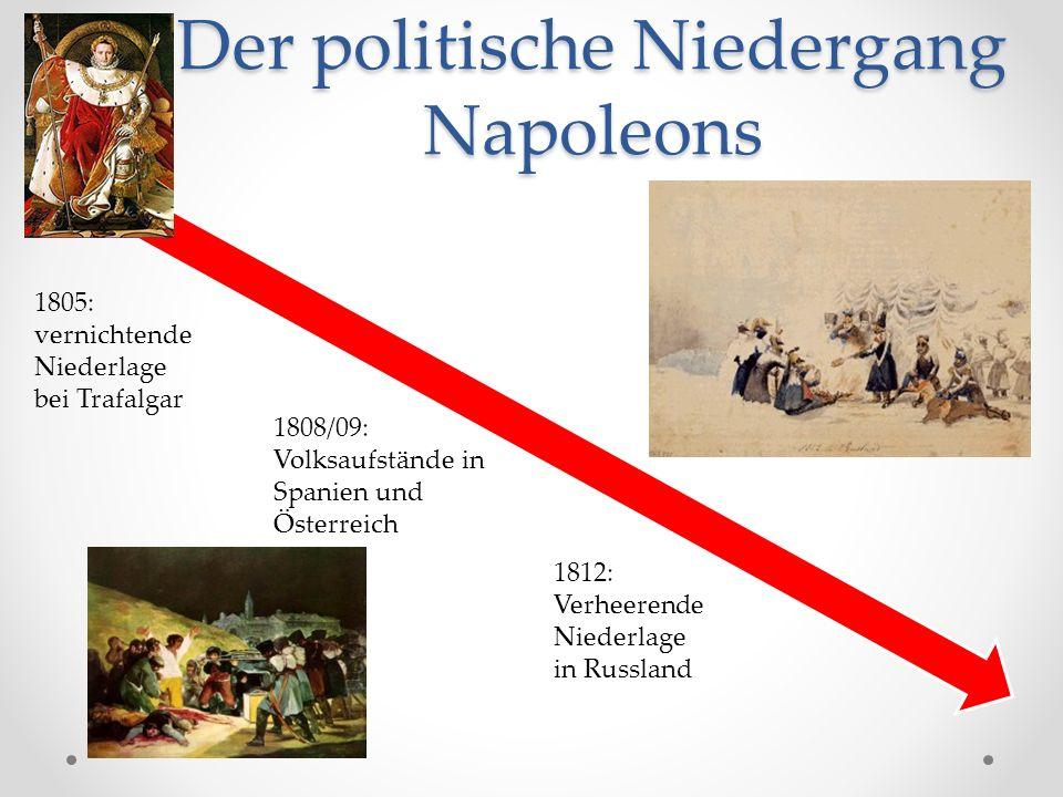 Der politische Niedergang Napoleons
