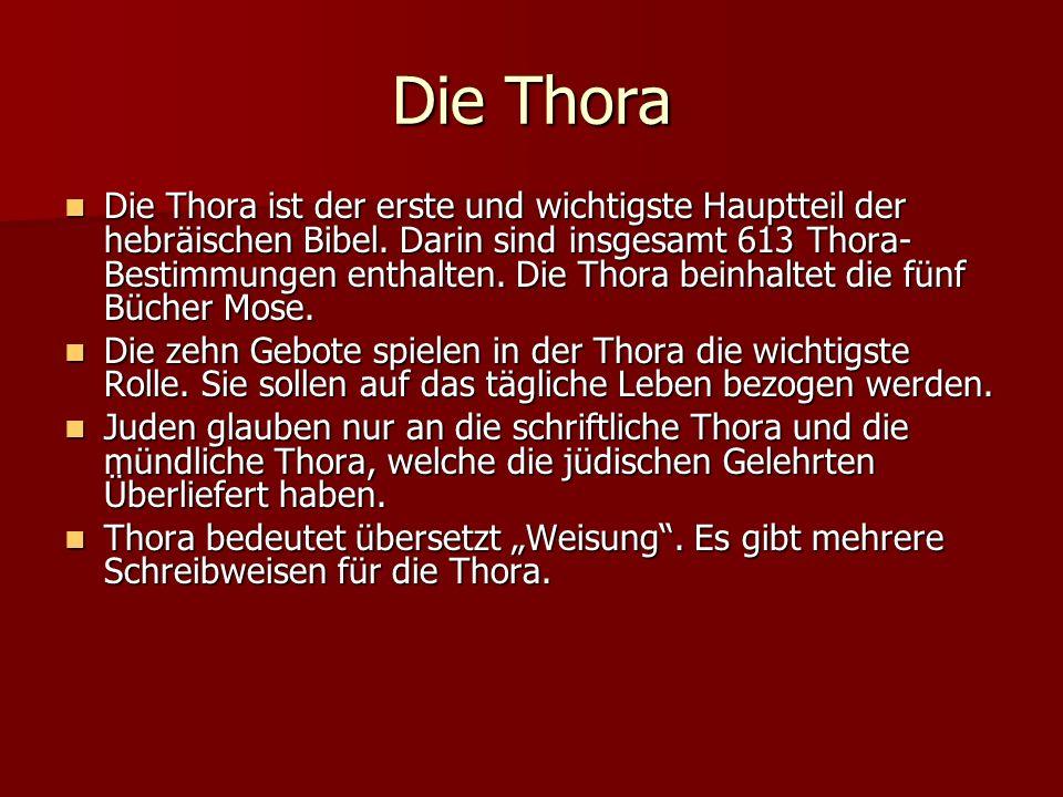 Die Thora