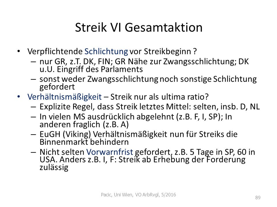 Streik VI Gesamtaktion