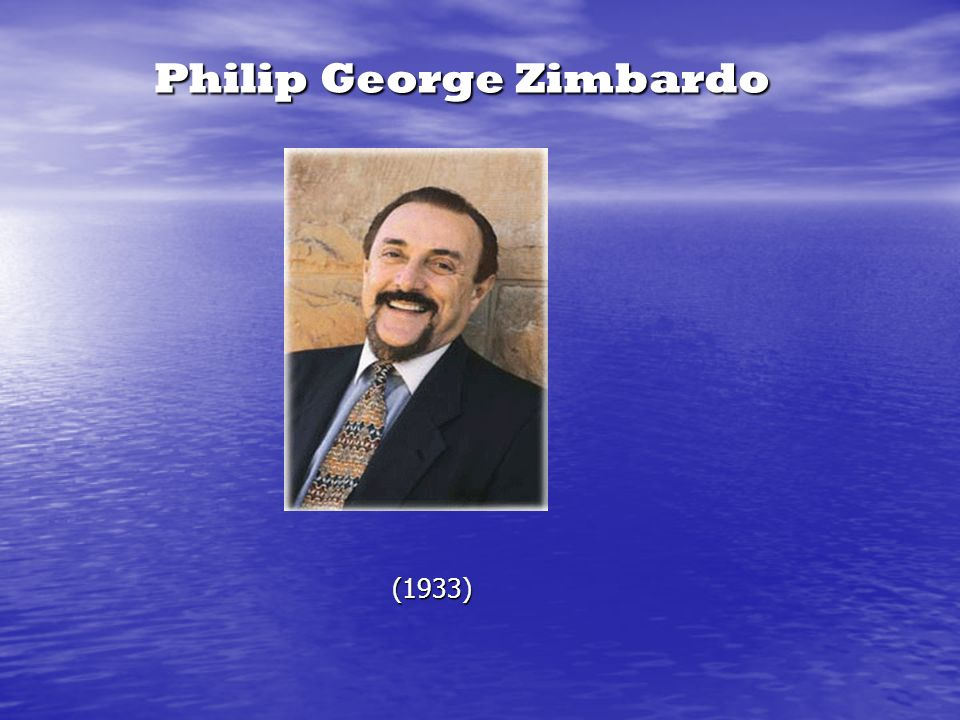 Philip George Zimbardo