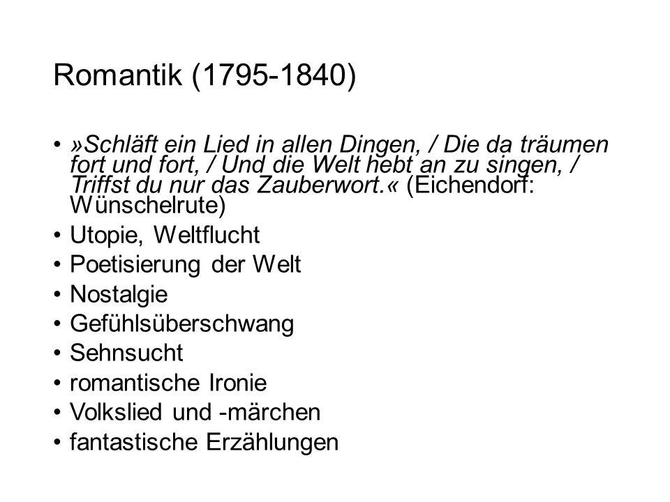 Romantik (1795-1840)