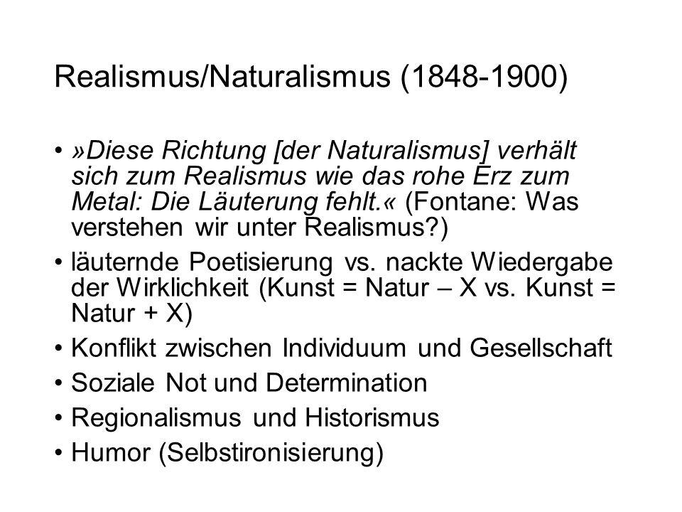 Realismus/Naturalismus (1848-1900)