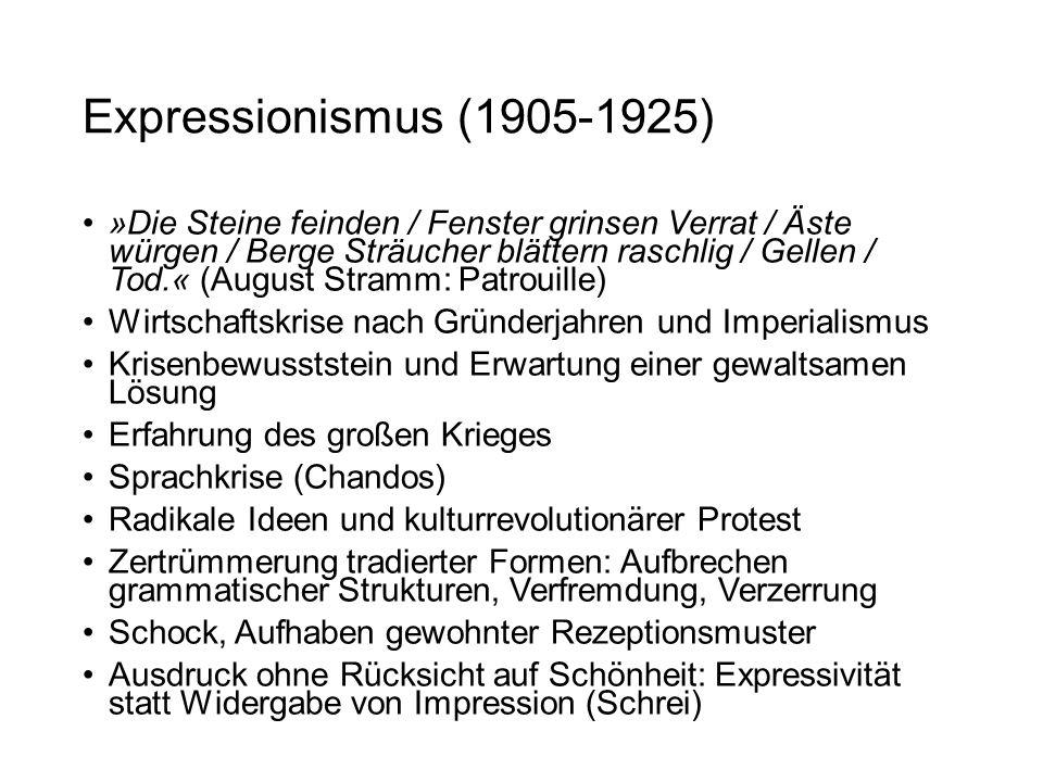Expressionismus (1905-1925)
