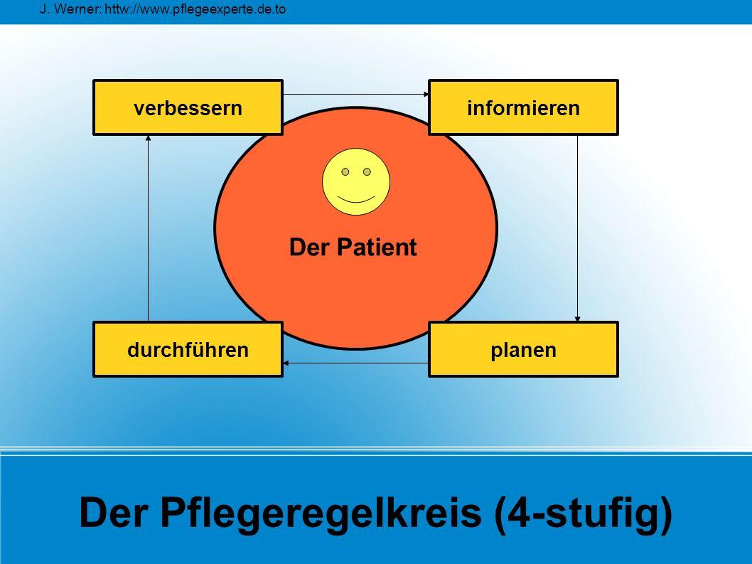 Der Pflegeregelkreis (4-stufig)