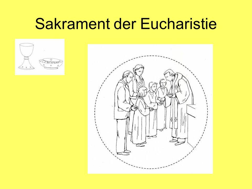 Sakrament der Eucharistie