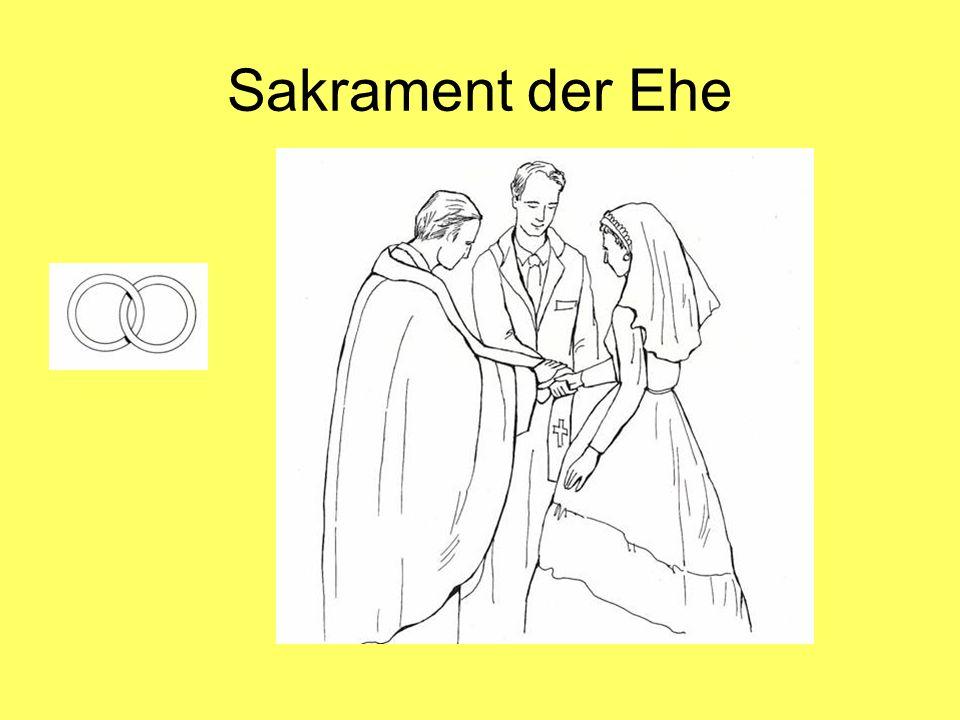 Sakrament der Ehe