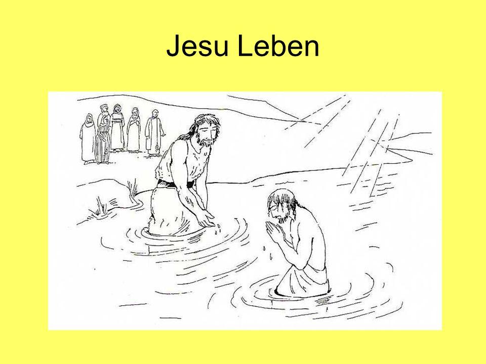 Jesu Leben Jesus spürt die Kraft Gottes