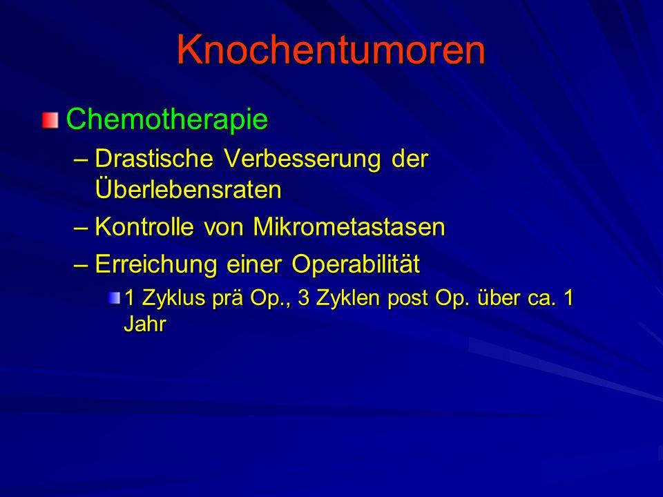 Knochentumoren Chemotherapie