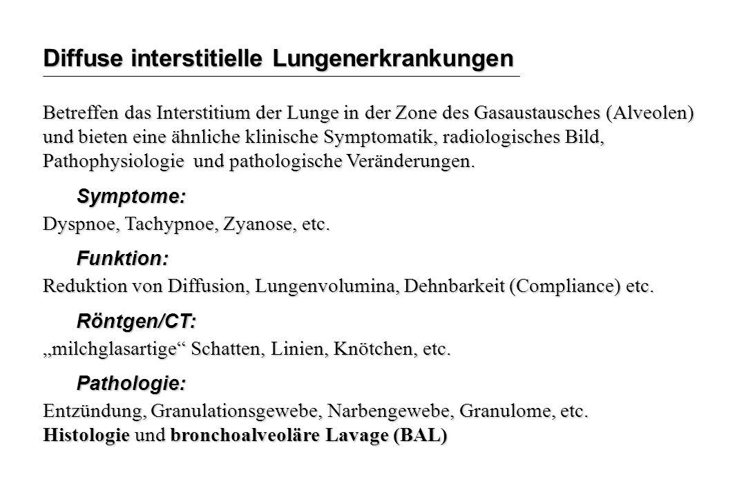Diffuse interstitielle Lungenerkrankungen