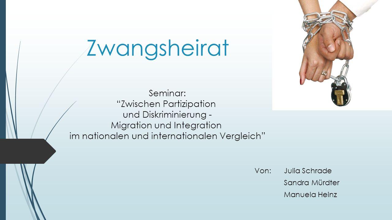 Von: Julia Schrade Sandra Mürdter Manuela Heinz
