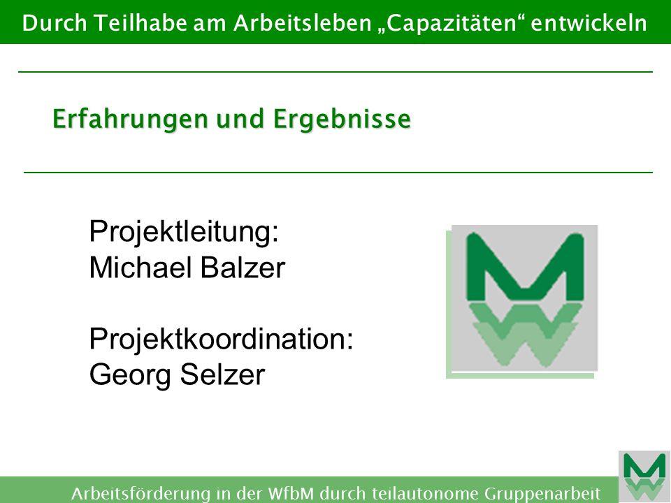 Projektkoordination: Georg Selzer