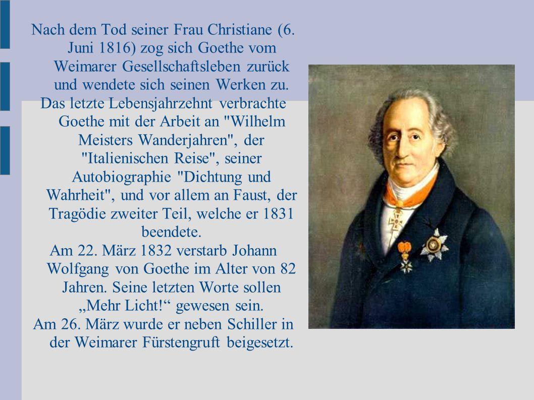 Nach dem Tod seiner Frau Christiane (6