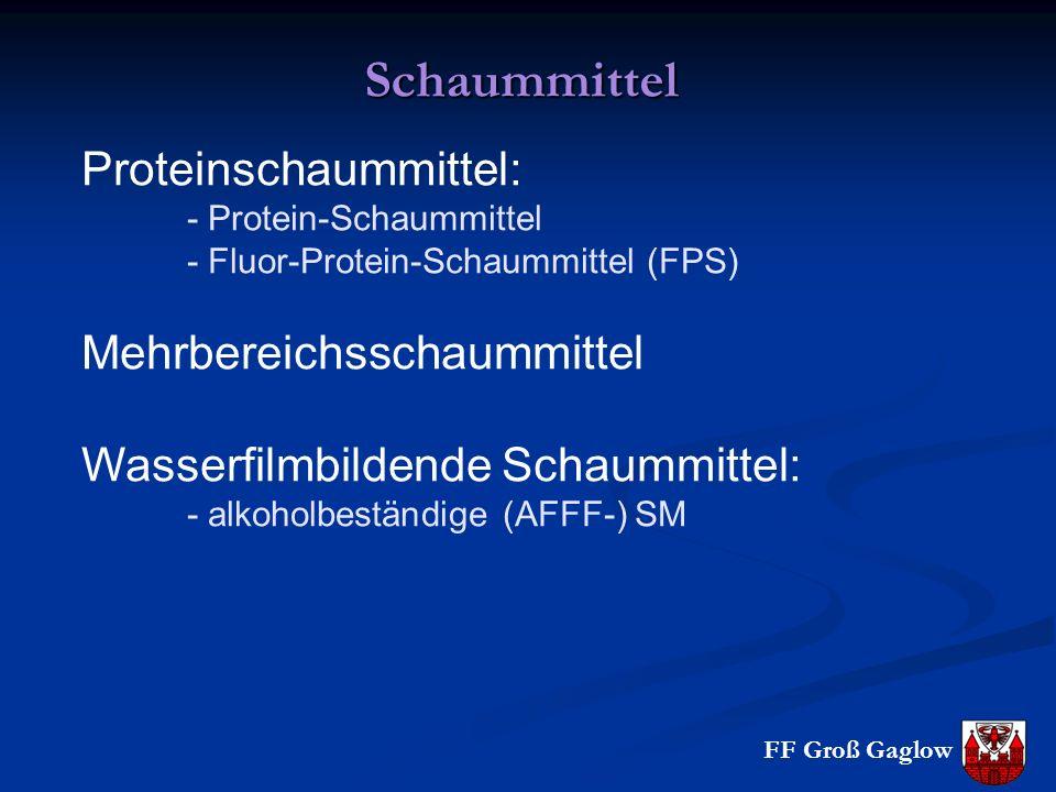 Schaummittel Proteinschaummittel: Mehrbereichsschaummittel