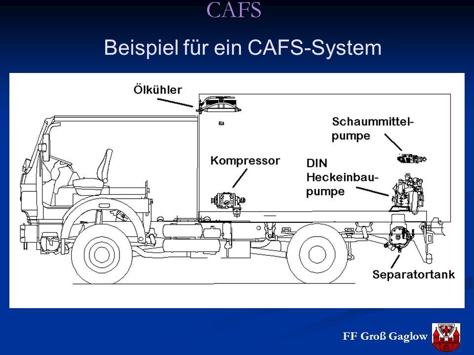 CAFS Beispiel für ein CAFS-System