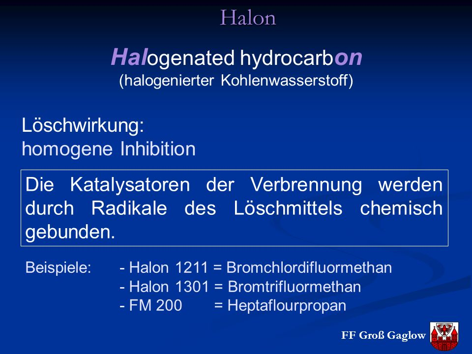 Halogenated hydrocarbon