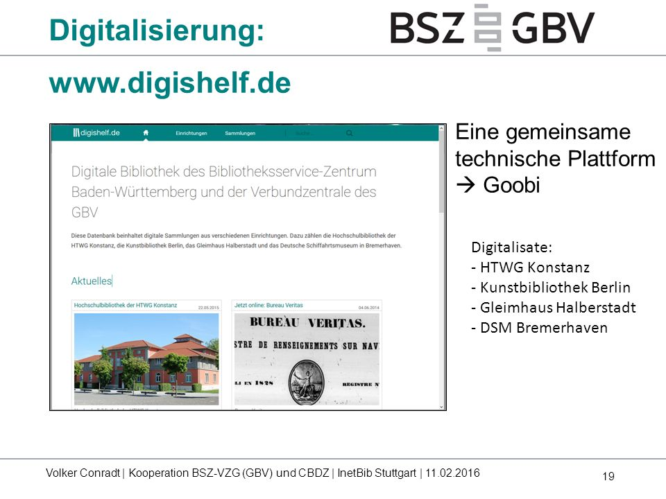 Digitalisierung: www.digishelf.de