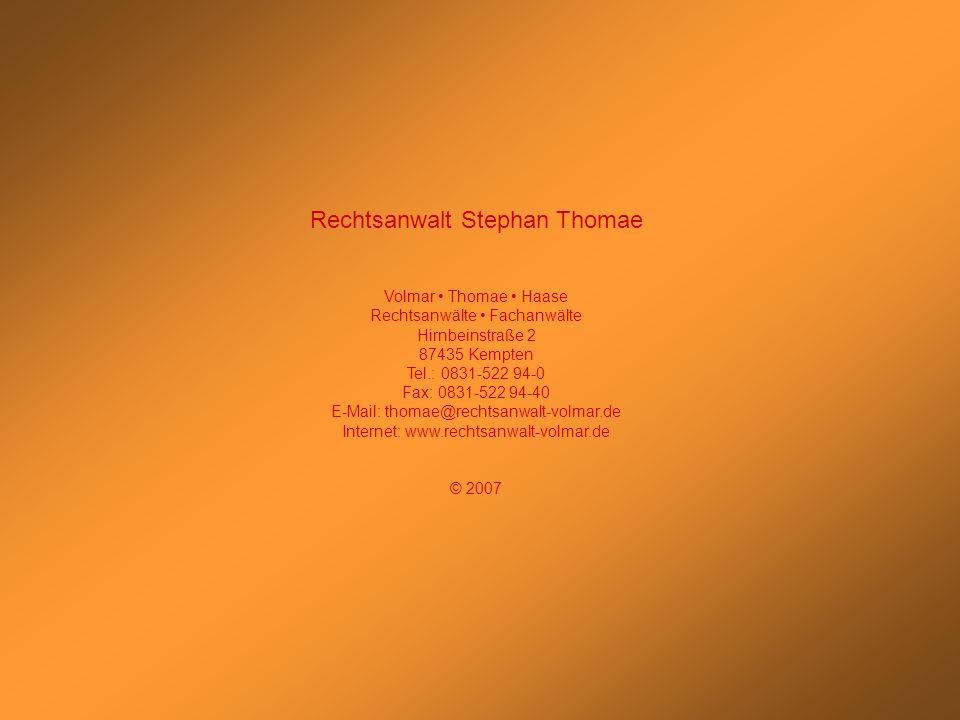 Rechtsanwalt Stephan Thomae
