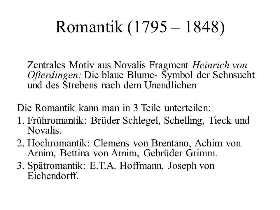 Romantik (1795 – 1848)