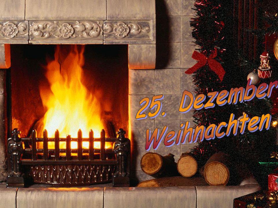 25. Dezember Weihnachten