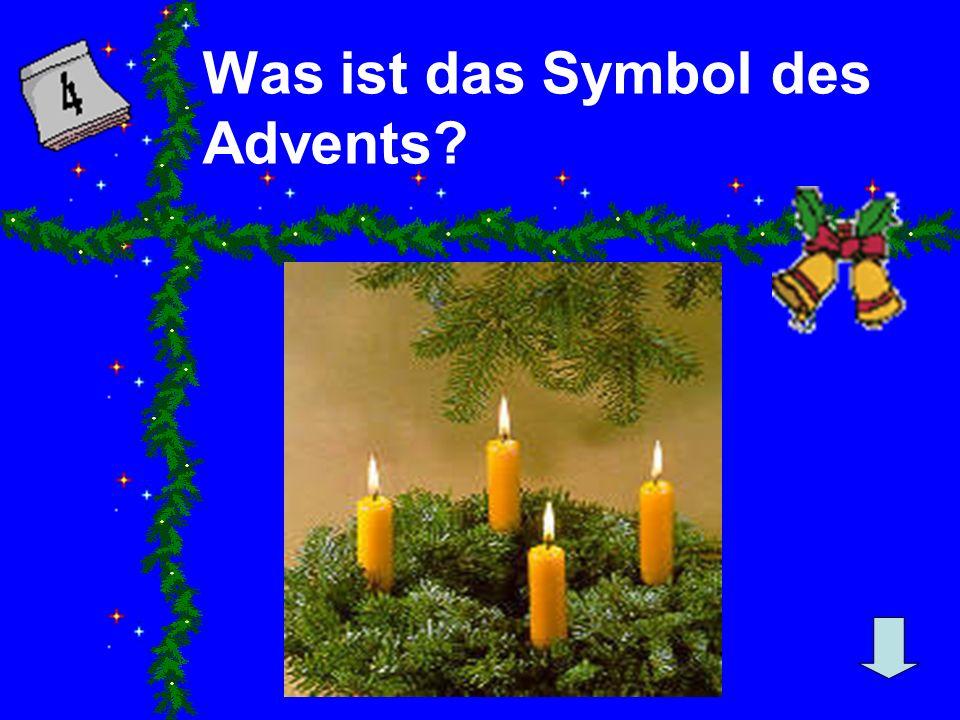 Was ist das Symbol des Advents