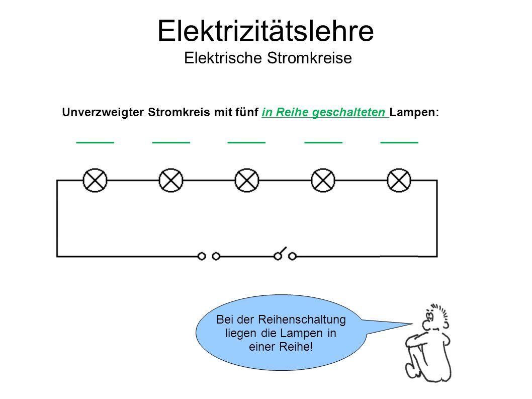 Nett Elektrische Stromkreise Fotos - Schaltplan Serie Circuit ...
