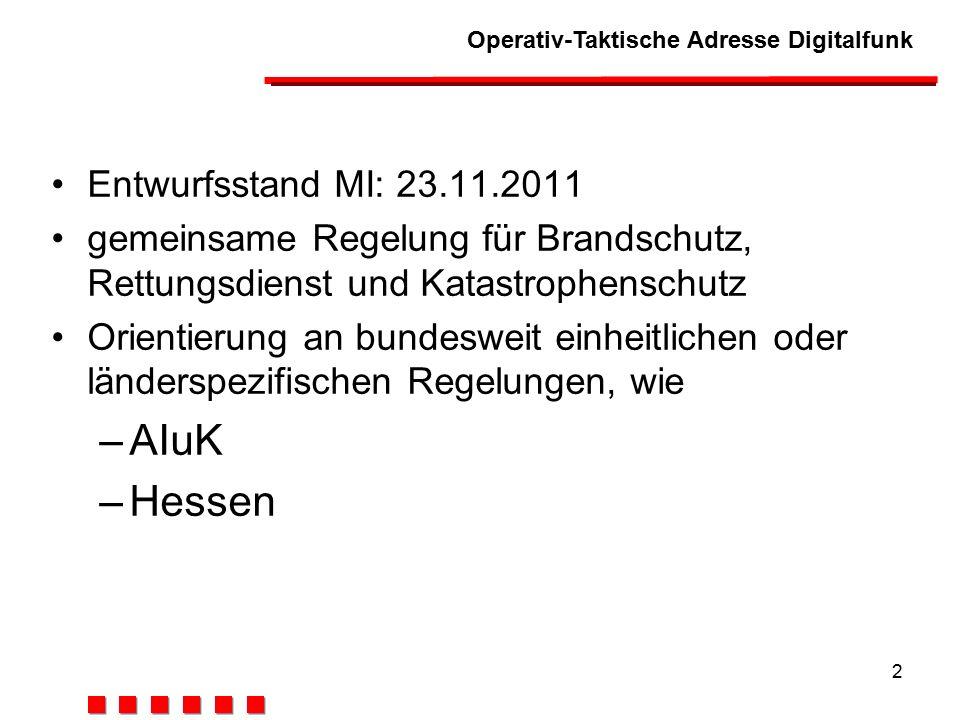 AIuK Hessen Entwurfsstand MI: 23.11.2011